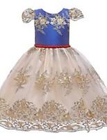 cheap -designed girl's dresses girls summer personalized backless bowknot children's skirt mesh gift girl dress