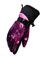 cheap -Ski Gloves Snow Gloves for Boys and Girls Kids Thermal Warm Waterproof Windproof Woven TPU Thinsulate Full Finger Gloves Snowsports for Cold Weather Winter Skiing Snowsports Snowboarding