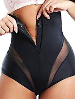 cheap -Sexy Shaperwear Women High Waist Trainer Body Shaper Belly Slim Control Body Shape Belly Underwear Briefs Zipper Panty