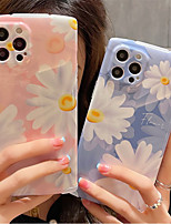cheap -Phone Case For Apple Back Cover iPhone 12 Pro Max 11 X XR XS Max iphone 7Plus / 8Plus Shockproof Dustproof Flower PC