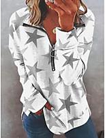 cheap -cotton-blend long sleeve sweet sweatshirt