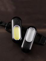 cheap -LED Bike Light Rear Bike Tail Light Safety Light Tail Light LED Bicycle Cycling Waterproof Portable New Design Lightweight Li-polymer 200 lm Rechargeable Batteries Everyday Use Cycling / Bike