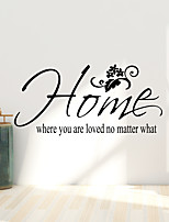 cheap -Life is't about English Proverbs Foreign Trade Wall Sticker Europe and America Wall Sticker English