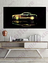 cheap -Wall Art Canvas Prints Painting Artwork Picture Still Life Car Home Decoration Dcor Rolled Canvas No Frame Unframed Unstretched