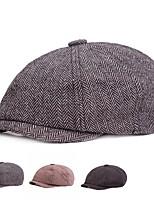 cheap -Men's Protective Hat Street Dailywear Pure Color Color Block Dark Gray Light Gray Hat