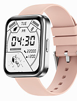 cheap -iMosi V30 Smartwatch Fitness Running Watch Bluetooth Pedometer Sleep Tracker Heart Rate Monitor Long Standby Media Control Message Reminder IP 67 37mm Watch Case for Android iOS Men Women
