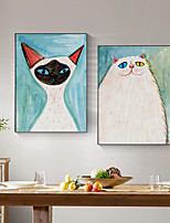 cheap -Wall Art Canvas Prints Painting Artwork Picture Nursery Animal Cute Pet Home Decoration Dcor Rolled Canvas No Frame Unframed Unstretched