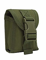 cheap -1000d tactical molle pouch, men waist pack belt bag phone pouch utility edc gear outdoor hiking hunting accessories (green)