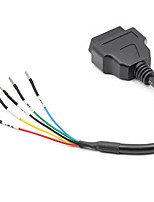 cheap -Female OBD 16 Pin Adapter Cable K Can OBD2 Engine Fault Detector Connector Cable Fits Turck Car Motorcycle KCan