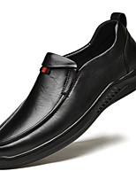 cheap -Men's Loafers & Slip-Ons Business Casual Daily Party & Evening Nappa Leather Black Brown Fall Spring