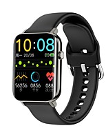 cheap -ZX15 Smartwatch Fitness Running Watch Bluetooth Pedometer Sleep Tracker Heart Rate Monitor Call Reminder Camera Control Step Tracker IP68 25mm Watch Case for Android iOS Women
