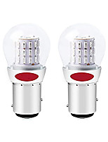cheap -OTOLAMPARA DC12V  Extremely Bright Tail Light Red 1157 2057 2357 7528 BAY15D 39SMD LED Bulbs Replacement for Halogen lamp Brake Lights Stop Lights 2pcs