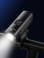 cheap -LED Bike Light Front Bike Light Bicycle Cycling Waterproof Super Bright Adjustable Durable Rechargeable Li-Ion Battery 1300 lm USB Camping / Hiking / Caving Everyday Use Cycling / Bike