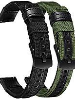 cheap -band compatible with samsung galaxy watch 4 classic bands 46mm 42mm/watch4 44mm 40mm band, 2pack 20mm nylon replacement strap band for galaxy watch4 44/42mm&watch 4 classic 42/46mm smartwatch