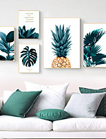 cheap -Wall Art Canvas Prints Painting Artwork Picture Floral Botanical Home Decoration Dcor Rolled Canvas No Frame Unframed Unstretched
