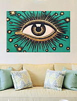 cheap -Wall Art Canvas Prints Eyes Home Decoration Decor Rolled Canvas No Frame Unframed Unstretched