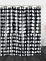 cheap -Funny Doodle Printed Waterproof Fabric Shower Curtain Bathroom Home Decoration Covered Bathtub Curtain Lining Including hooks.