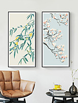 cheap -Wall Art Canvas Prints Painting Artwork Picture Floral Botanical Tradition Home Decoration Decor Rolled Canvas No Frame Unframed Unstretched