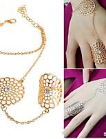 cheap -Women's Ring Bracelet / Slave bracelet Cut Out Dream Catcher Fashion Alloy Bracelet Jewelry Silver / Golden For Party Wedding Prom Club Festival