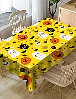 cheap -Halloween Waterproof Printed Tablecloth Pumpkin Bat Witch
