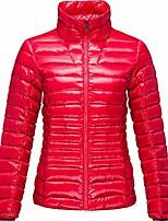 cheap -Women's Sports Puffer Jacket Hiking Down Jacket Hiking Windbreaker Down Winter Outdoor Thermal Warm Windproof Fleece Lining Lightweight Outerwear Winter Jacket Trench Coat Fishing Climbing Running
