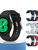 cheap -Smart Watch Band for Samsung Galaxy Sport Band Silicone Replacement  Wrist Strap for Galaxy Watch 4 40mm Galaxy Watch 4 44mm