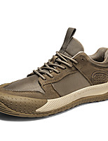 cheap -Men's Sneakers Casual Classic Daily Nappa Leather Gray Khaki Fall Winter