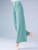 cheap -Ballroom Dance Activewear Pants Solid Women's Training Performance High Modal