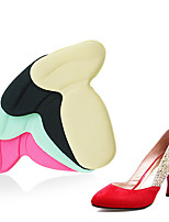 cheap -10 Pairs T-shaped 2-in-1 Heel Insoles Heel Insoles Thickened Foot Protection Heel Stickers Women's Wear-resistant High-heeled Insoles