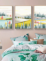 cheap -Wall Art Canvas Prints Countryside Home Decoration Decor Rolled Canvas No Frame Unframed Unstretched