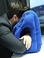 cheap -Upgrade Inflatable Travel Sleeping Bag Portable Cushion Neck Pillow for Men Women Outdoor Airplane Flight Train Sleeping Easy