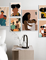 cheap -Wall Art Canvas Prints Painting Artwork Picture People Holiday Home Decoration Dcor Rolled Canvas No Frame Unframed Unstretched