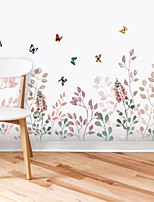 cheap -leaf wallpaper living room bedroom aisle wall decoration baseboard self-adhesive painting wall sticker decoration