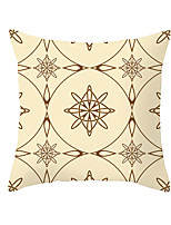 cheap -Cushion Cover 1PC Soft Decorative Square Throw Pillow Cover Cushion Case Pillowcase for Bedroom Livingroom Superior Quality Machine Washable Indoor Cushion for Sofa Couch Bed Chair