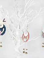cheap -Christmas Decorations Wooden Felt Pendant Christmas Tree cene Decoration Christmas gifts