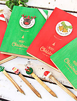 cheap -1 PC Creative Christmas Notebooks / Notepads 13.4*19.3*2.2 cm