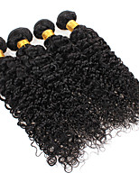 cheap -Ishow 3 Bundles Human Hair Weaves 100% Human Hair Peru Hair 3 Pieces Of Curly Human Hair 8-28 Inch Hair Extensions
