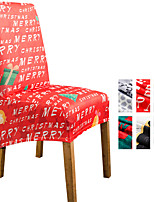 cheap -Dining Chair Covers for Christmas Decoration, Stretch Chair Cover Green Spandex Jacquard High back Chair Protector Covers Seat Slipcover with Elastic Band for Dining Room,Wedding, Ceremony, Banquet