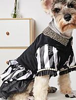 cheap -Pet Bling Black Dog Party Dress for Cat Dog Tutu Skirt Dog Wedding Dress Outfits Apparel Summer Dog Shirt Clothes