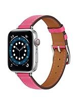 cheap -Smart Watch Band for Apple iWatch 1 pcs Classic Buckle Quilted PU Leather Replacement  Wrist Strap for Apple Watch Series SE / 6/5/4/3/2/1