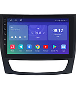 cheap -For BENZ W211 2002-2009 Android 10.0 Autoradio Car Navigation Stereo Multimedia Car Player GPS Radio 9 inch IPS Touch Screen 1 2 3G Ram 16 32G ROM Support iOS Carplay WIFI Bluetooth 4G