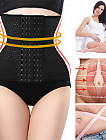 cheap -Waist Trainer Cincher Shapewear Women Corset Slimming Belt Belly Belt Binder Belly Sheath Modeling Harness Body Shaper 3 Breasted