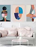 cheap -Wall Art Canvas Prints Painting Artwork Picture Abstract People Colorful Home Decoration Dcor Rolled Canvas No Frame Unframed Unstretched