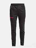 cheap -Men's Women's Cycling Tights Bike Tights Moisture Wicking Sports Solid Color Black Mountain Bike MTB Road Bike Cycling Clothing Apparel Bike Wear / Micro-elastic / Athleisure