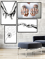 cheap -Wall Art Canvas Prints Painting Artwork Picture Romance Still Life Home Decoration Decor Rolled Canvas No Frame Unframed Unstretched