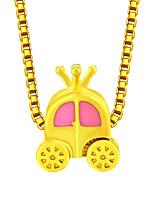 cheap -Female Gold Alloy Necklace Unicorn Necklace Halloween Pumpkin Cart Friend Necklace Length Adjustable