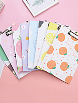 cheap -Fresh cartoon cardboard clip office folder writing pad plywood thickened student stationery