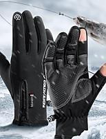 cheap -Men's 1 Pair Outdoor / Streetwear Fingertips Gloves - Color Block Full Finger