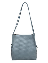 cheap -Women's Bags PU Leather Tote Daily Work Handbags Blue Yellow White Black
