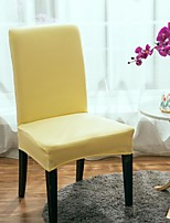 cheap -Stretch Kitchen Chair Cover Slipcover for Dinning Party Solid High Elasticity Fashion Printing Four Seasons Universal Super Soft Fabric Retro Hot Sale